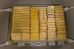 Racclette Käse Auswahl